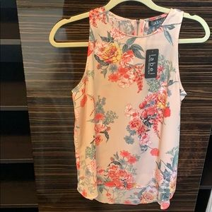 RACHEL Rachel Roy Tops - (BNWT) Sleeveless floral blouse